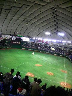 巨人×中日@東京ドーム